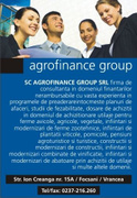 Job offers, jobs at SC  AGROFINANCE  GROUP SRL