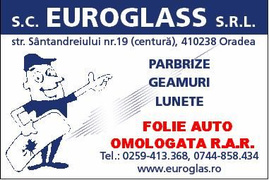 Locuri de munca la SC EUROGLASS SRL