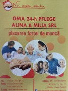 Job offers, jobs at GMA 24-H  PFLEGE ALINA & MILIA SRL