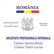 Locuri de munca la SPN Ciuhan Aurora-Brăila și Ciuhan Tudor-Lucian