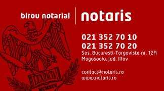 Locuri de munca la NOTARIS - Societate Profesionala Notariala