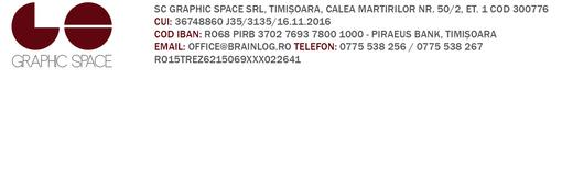 Locuri de munca la GRAPHIC SPACE SRL