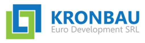 Locuri de munca la KRONBAU EURO DEVELOPMENT