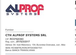 Állásajánlatok, állások Cth Alprof Systems