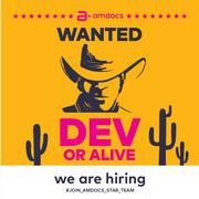 Job offers, jobs at Amdocs
