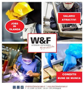 Job offers, jobs at W&F detacheringen
