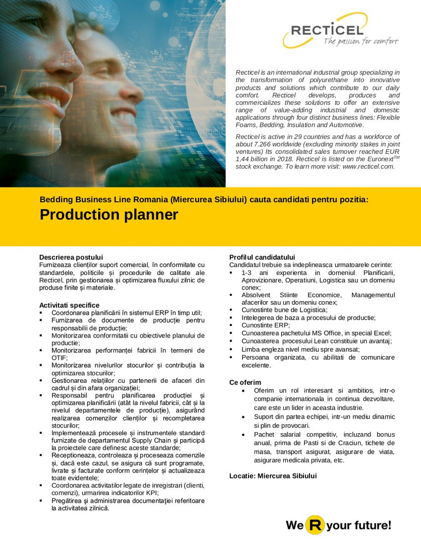 Production planner-MIE