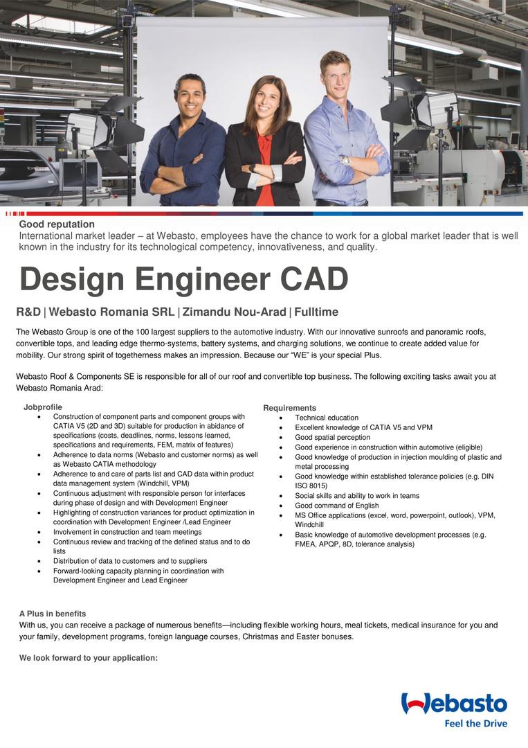 Designer engineer CAD-1