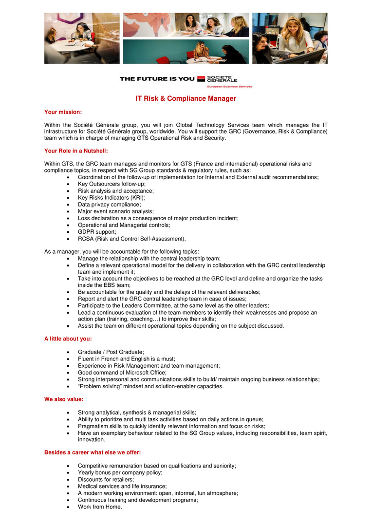 IT Risk & Compliance Manager-1
