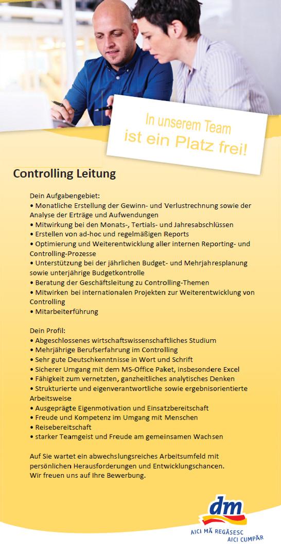 controlling leitung