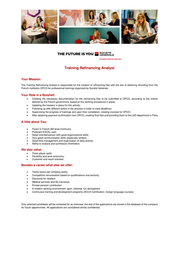 Refinancing Training Analyst