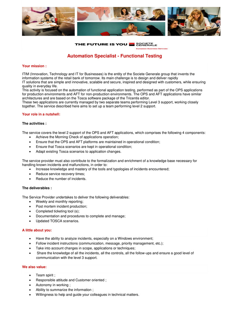 JD Automatisation Specialist - Functional Testing-1