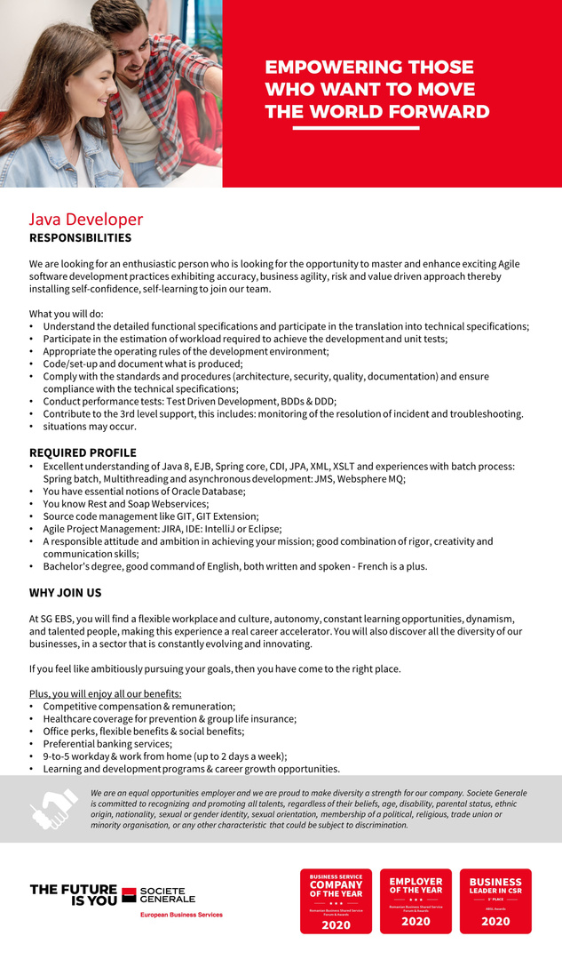 Java Developer Digital Client PRI