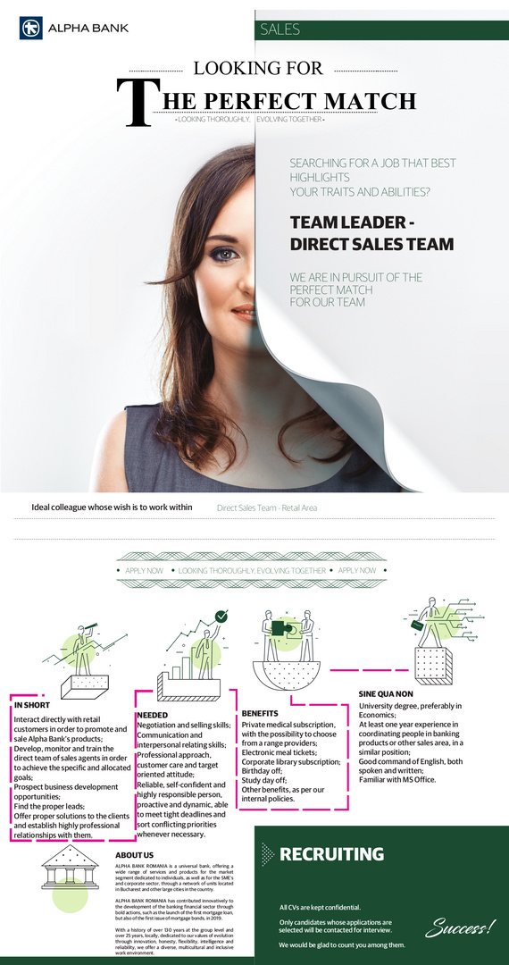 Team Leader - Direct Sales Team