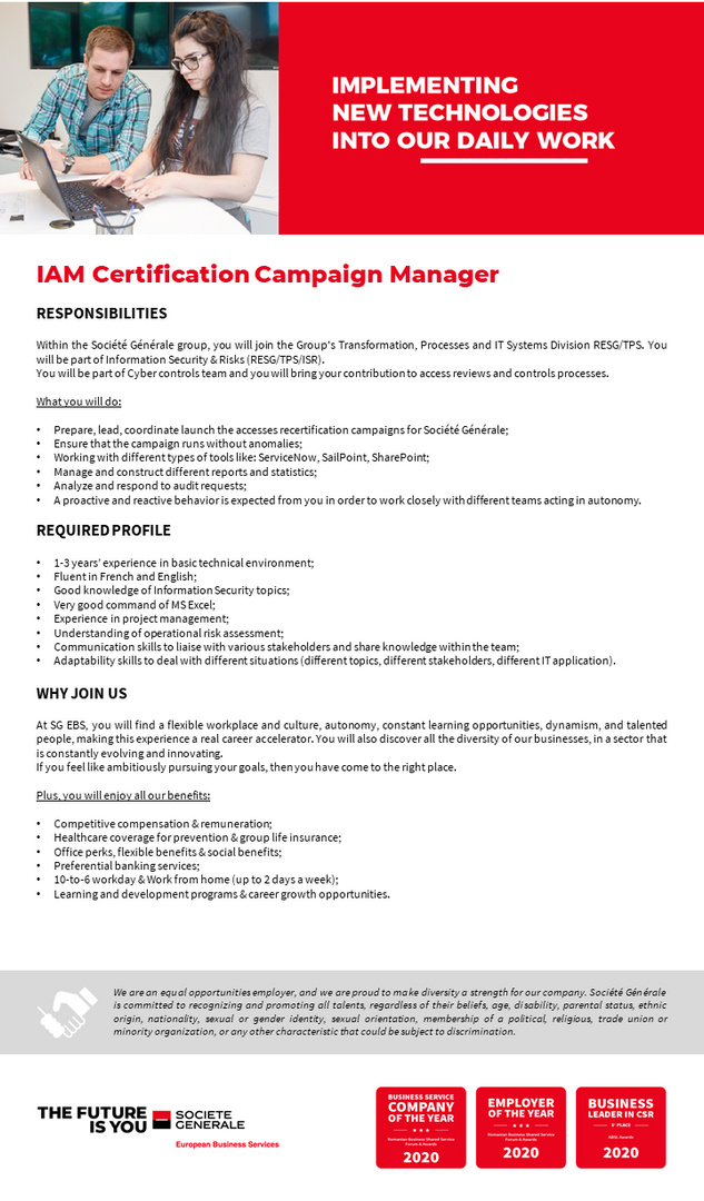 JD_SGEBS_IAM Certification Campaign Manager
