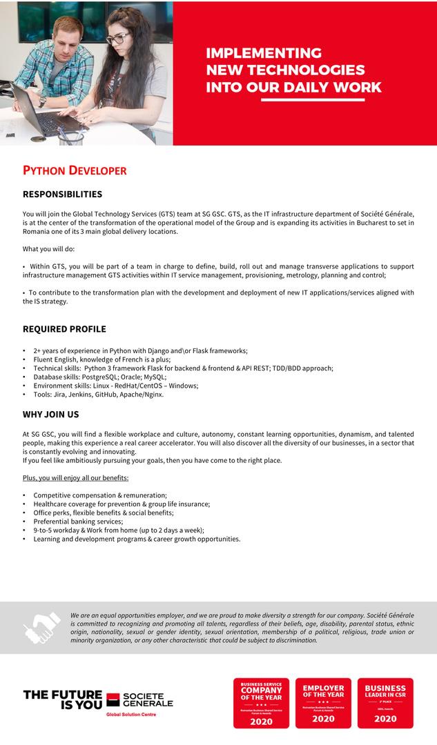 JD_SG GSC_Python Developer