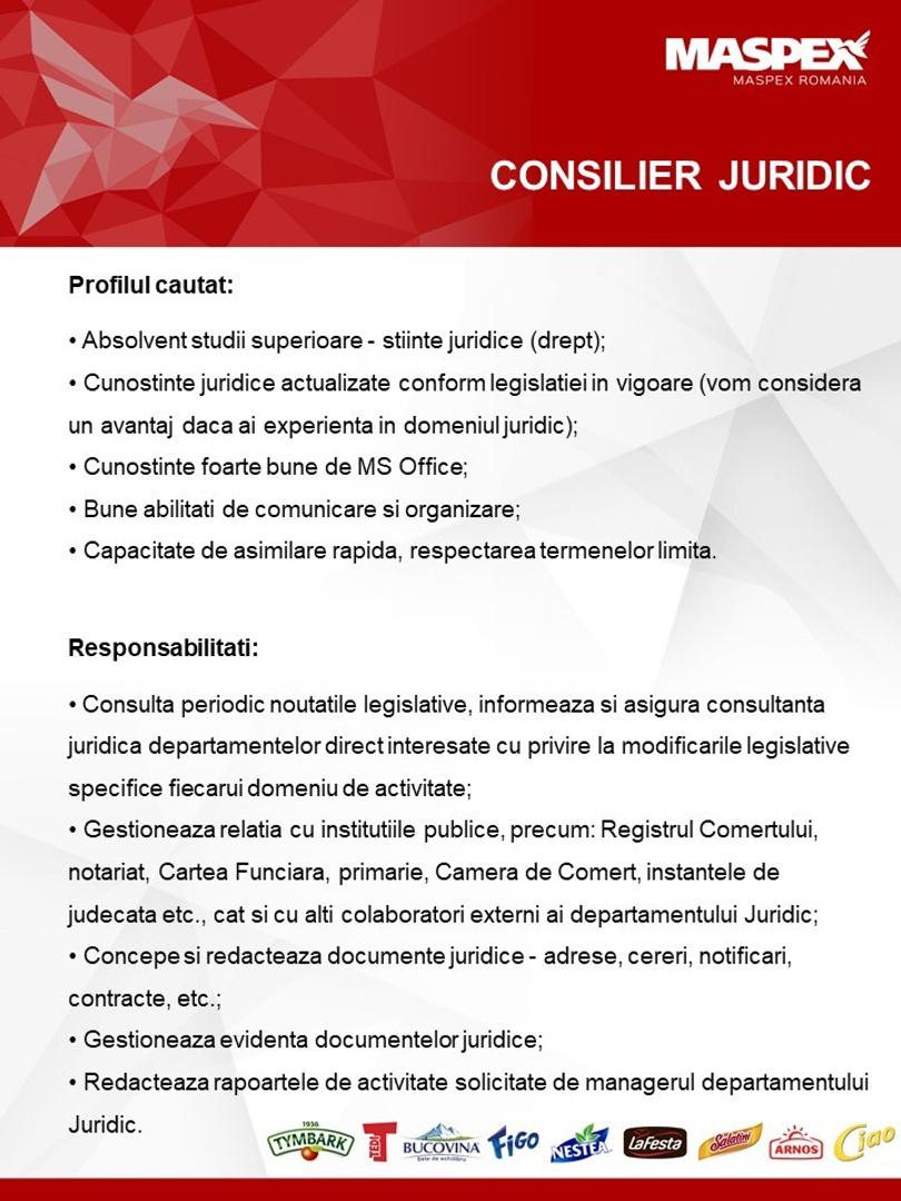 CONSILIER JURIDIC